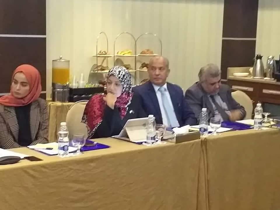 الحزب يشارك في الاجتماع التشاوري للأحزاب والكيانات السياسية الفعالة